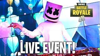 *NEW* MARSHMELLO FORTNITE EVENT! (LIVE)