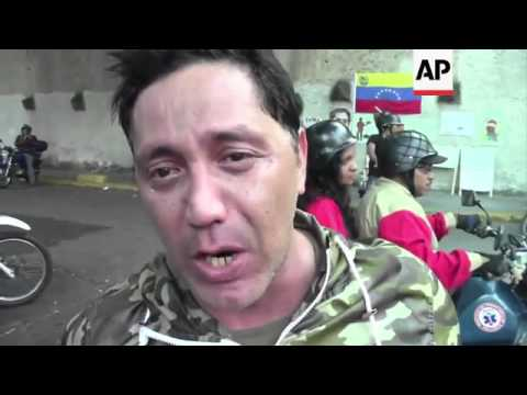 Reaction from Caracas following news that Chavez has died