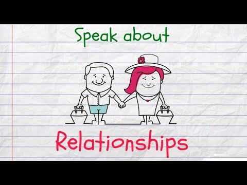 How to Speak about Relationships in English