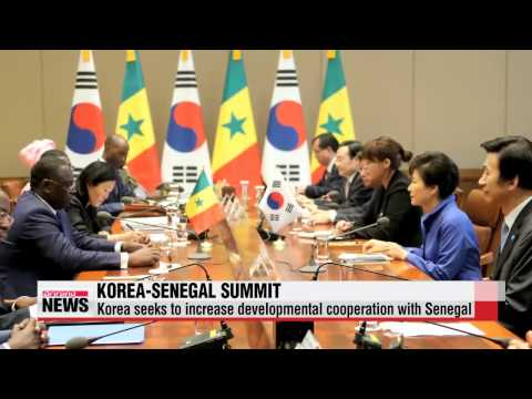 Leaders of Korea, Senegal seek greater cooperation in maritime affairs, infrastr