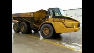 2006 Caterpillar 740 articulated dump truck for sale | sold at auction March 13, 2013