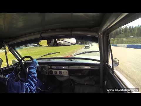 Historic Grand Race 2014 Ahvenisto - Hämeenlinna - Finland - Plymouth Barracuda - Race #1