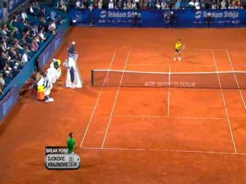 Djokovic - Krajinovic (ATP Belgrade QF 2010)