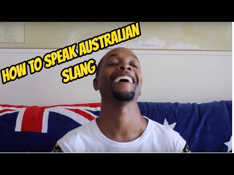 how to speak slang english