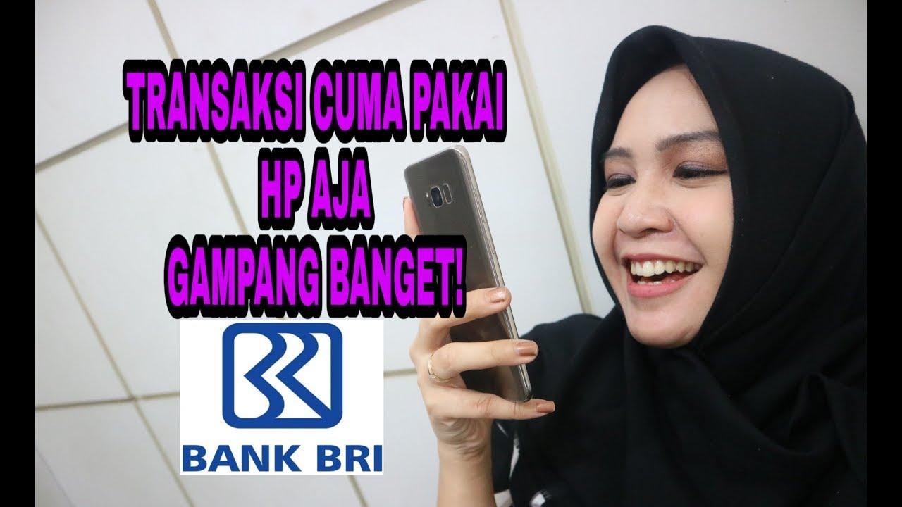 CARA DAFTAR SMS BANKING BRI MOBILE - YouTube