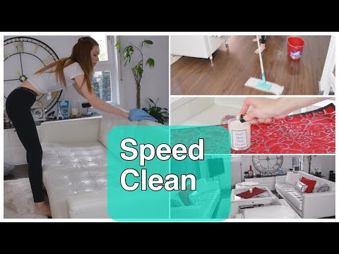 SPEED CLEANING MOTIVATION