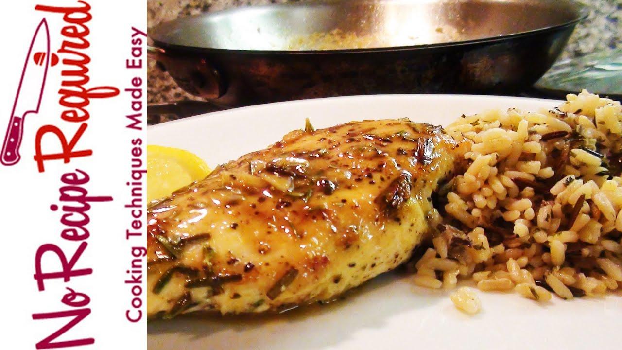 Rosemary herb chicken breast recipe