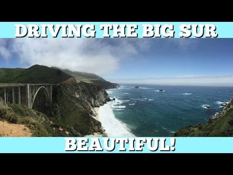 Driving The Big Sur Coast In California