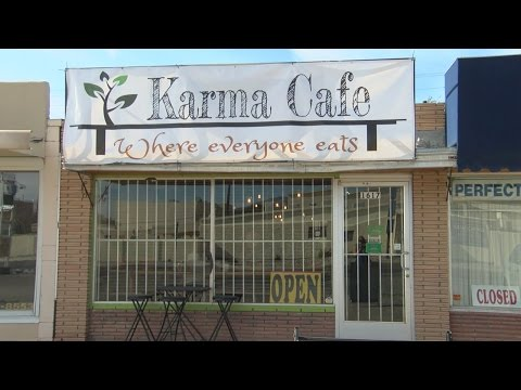 "New Albuquerque cafe hopes ""karma"" will keep it in business"