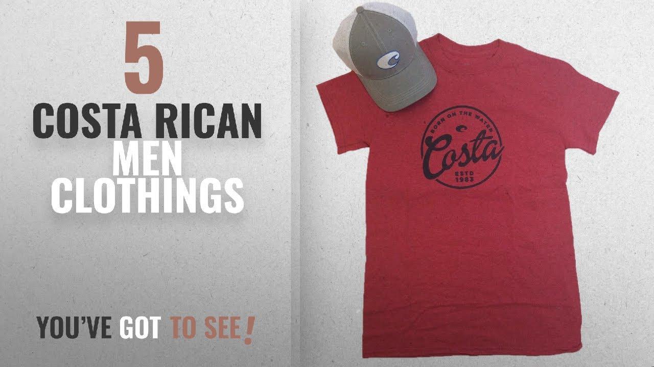 1ab39872c3 Top 10 Costa Rican Men Clothings   Winter 2018    Costa Del Mar Men s Logo  Hat And Freeboard T-shirt