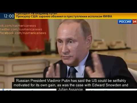 28 may Путин заявление по США. Putin. FIFA -linked arrests US attempt to thwart Blatter re-election