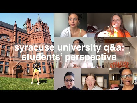 Everything You Want To Know About Syracuse University (from Students) | Margot Lee