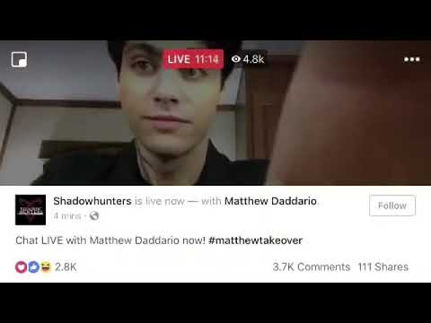 Dom Sherwood using homophobic slur on Matthew Daddario's Facebook live. EXPOSED?