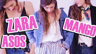 HAUL de Ropa de Temporada! 😱| Zara, Mango Outlet, Asos...