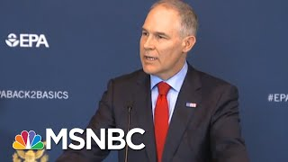 Teacher Who Confronted Pruitt Responds To Calls For Civility | The Beat With Ari Melber | MSNBC