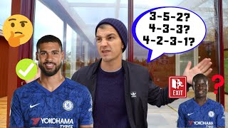 How Does FRANK LAMPARD FIT RUBEN LOFTUS CHEEK into his CHELSEA FC XI?