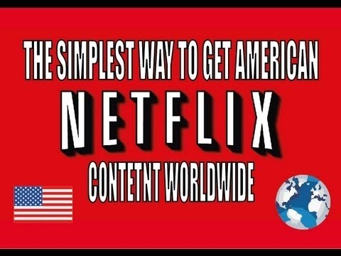 how to change to american netflix on iphone