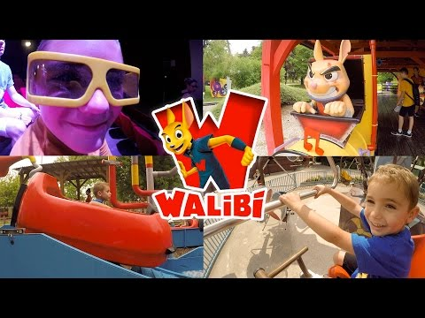 VLOG - Journée Fun au Parc d'Attractions WALIBI - 1/2
