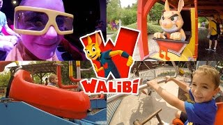 VLOG - Journée Fun au Parc d'Attractions WALIBI - 1/2