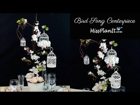 DIY Bird Cage Wedding or Quinceanera Centerpiece | DIY Wedding Decorations | DIY Tutorial