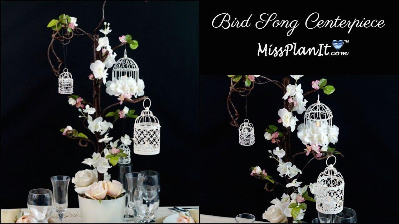 Diy bird cage wedding or quinceanera centerpiece diy wedding diy bird cage wedding or quinceanera centerpiece diy wedding decorations diy tutorial junglespirit Images