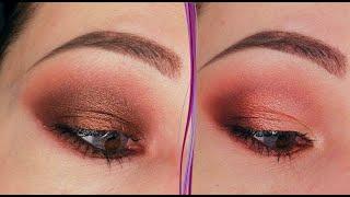 Ржавый макияж глаз в стиле смоки айс 2 пошаговых урока