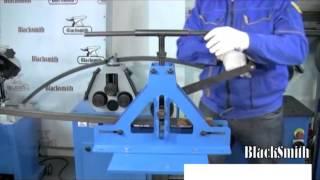 Трубогиб профилегиб ручной Blacksmith MTB10 40