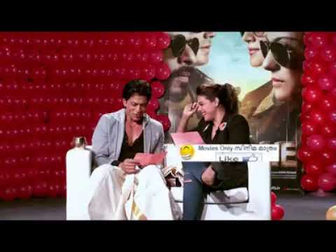 sharukh khan speaking malayalam dialogue with kajol.  Funny interview