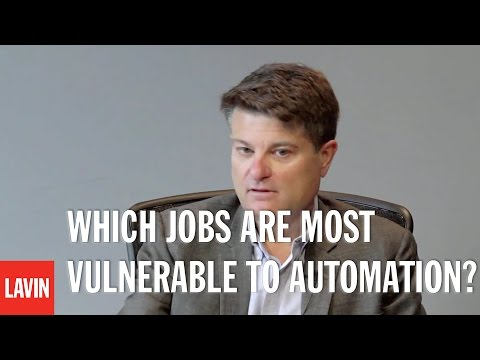 TED Speaker Martin Ford: Which Jobs Are Most Vulnerable to Automation?