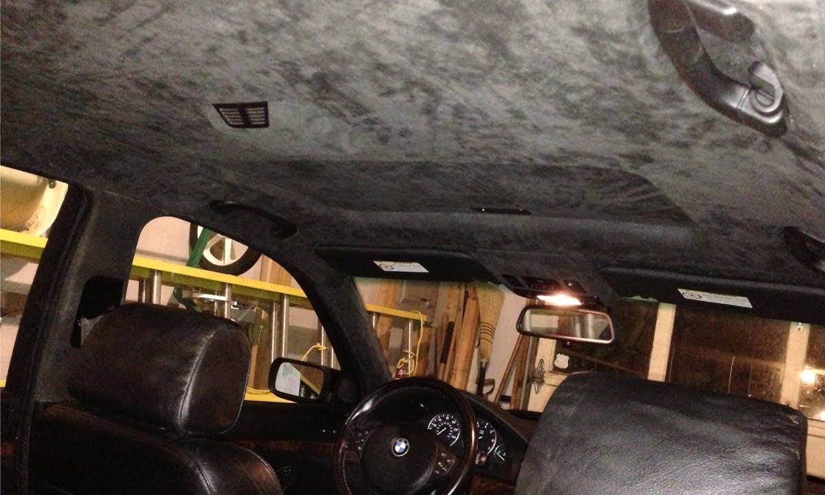 Bmw Headliner Replacement Diy Youtube