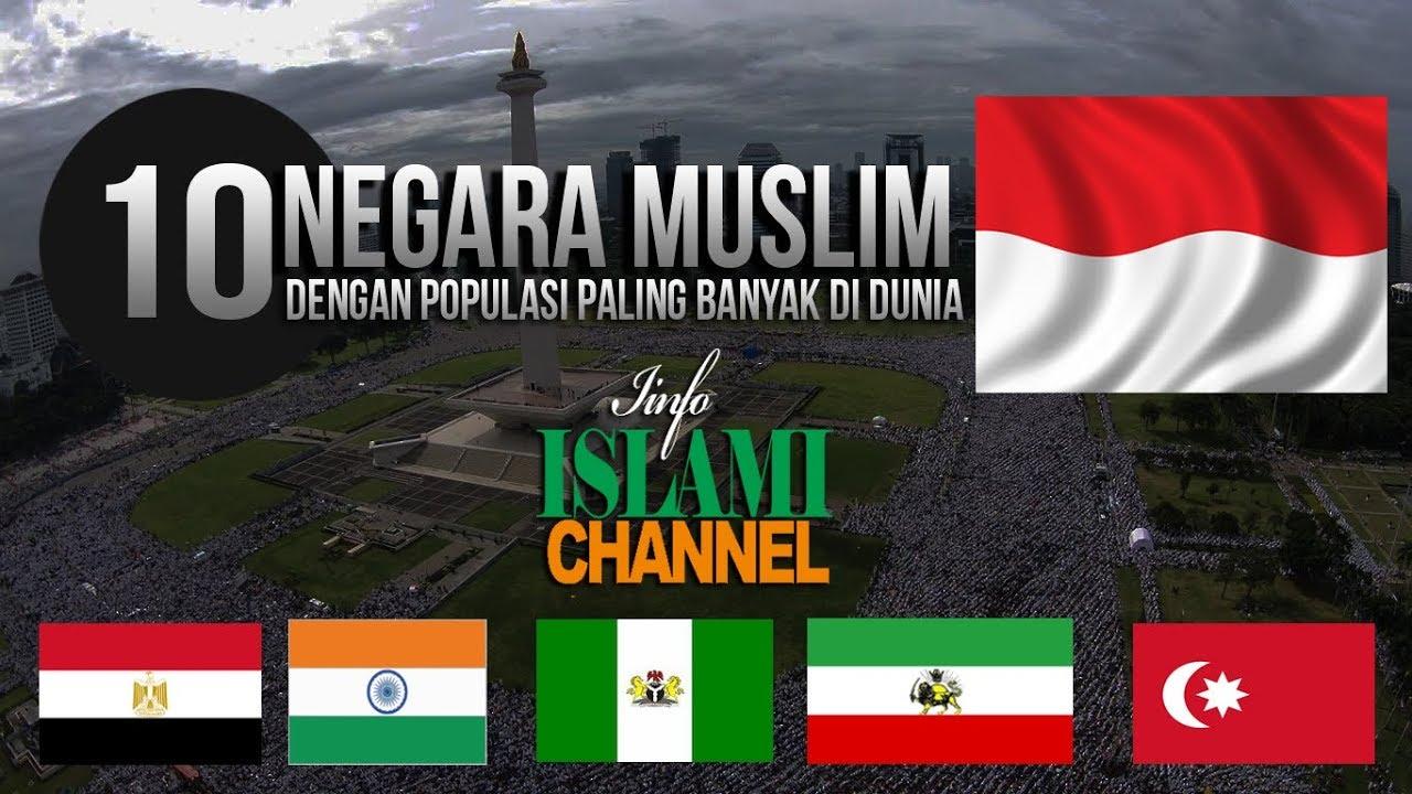 10 NEGARA MUSLIM TERBESAR DI DUNIA | KITA DI INDONESIA ...