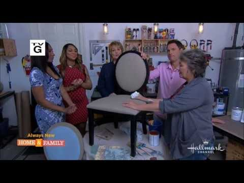 annie-sloan-paints-fabric-with-chalk-paint®-on-home-&-family-on-hallmark-channel