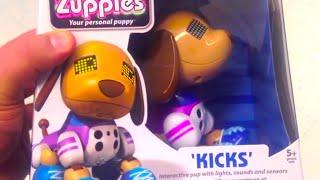 "Zoomer Zuppies ""kicks"" Robot Puppy Electronic Puppy"