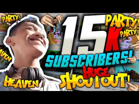 15,000 SUBSCRIBERS!!!