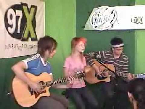 "Paramore ""Misery Business"" [acoustic]"