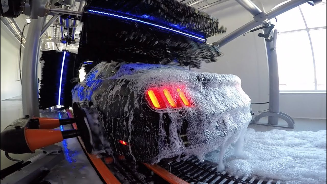 Car Wash Machine >> 2015 SpinLite® Car Wash – A Cleaner Experience – Belanger Inc. - YouTube