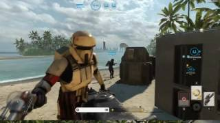 Star Wars Battlefront Ultimate Edition PC Gameplay 1 Rogue One Scarif