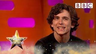 Timothee Chalamet's rap battle challenge - BBC