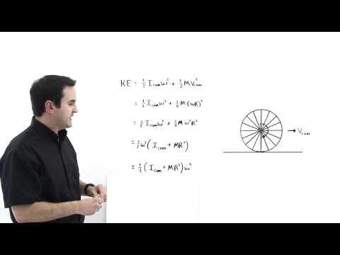 Kinetic Energy of Rolling Motion