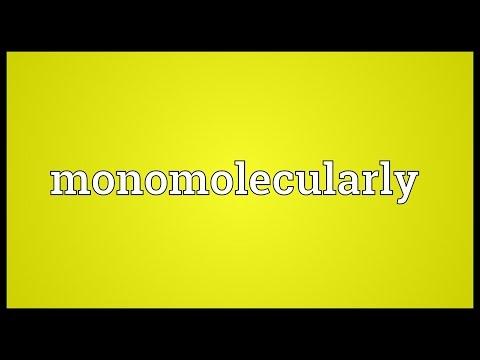 Header of monomolecularly