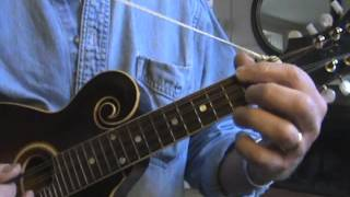 Simple Mandolin blues in D.