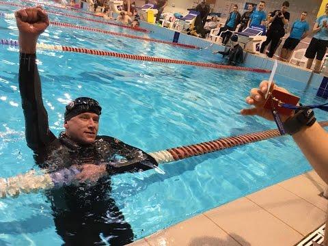 Riga Freediving Cup 2016 DYN Alexey Potapenko 205 m Latvian NR