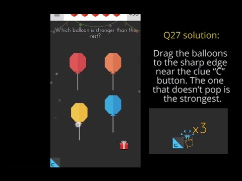 Tricky Test 2 Answers | Level 21 22 23 24 25 26 27 28 29 30