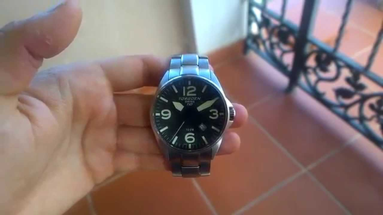 b551a6eaeee Torgoen T10 SS Bracelet Review! - YouTube