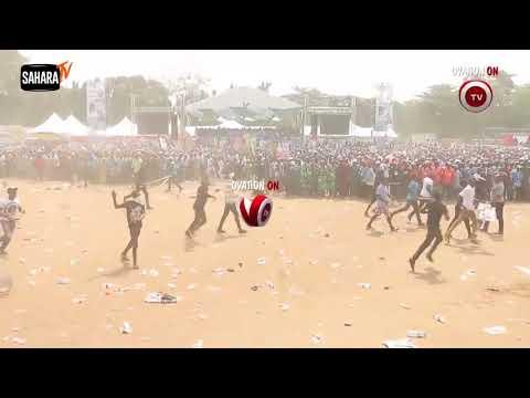 'MC Oluomo' Stabbed, Dozens Injured As Lagos APC Rally Turns Violent