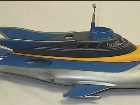 Stingray - Gerry Anderson Model Pictures - YouTube