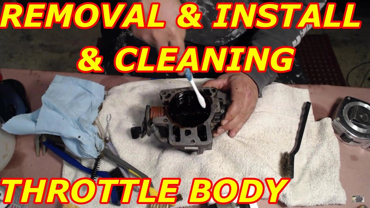 4 3 Chevy Tbi Control Wiring Diagram Throttle Body Removal And Cleaning 2000 Chevy Tahoe Youtube