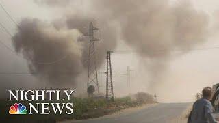 Inside Turkey's Offensive Against Kurdish Forces In Syria | NBC Nightly News