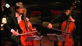 Amsterdamse Cello Biënnale 2012 - Requiem for 3 cellos and piano during Cello Coupé