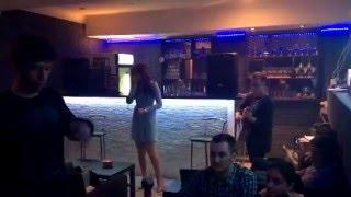 Выступление Анастасии Алентьевой в Hookahs Lab